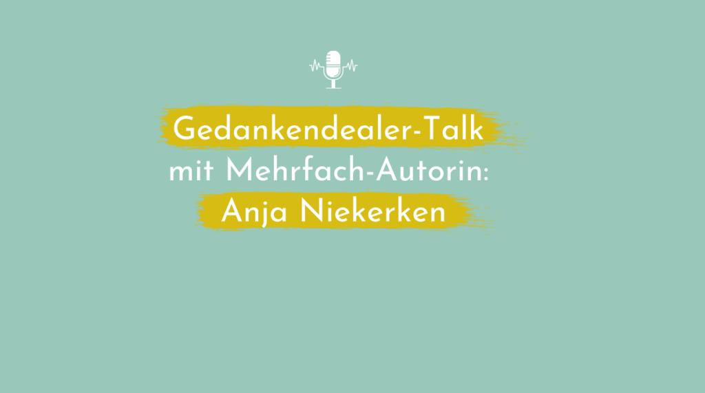 Buch schreiben: Tipps von einer Mehrfachautorin Anja Niekerken